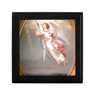 A Soul Taken away by an Angel by Jean-Leon Gerome Jewelry Box