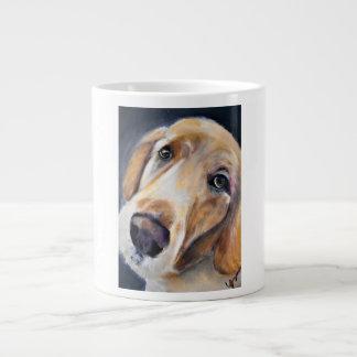 A Soulful Golden Retriever Jumbo Mug
