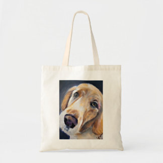 A Soulful Golden Retriever Tote Bag