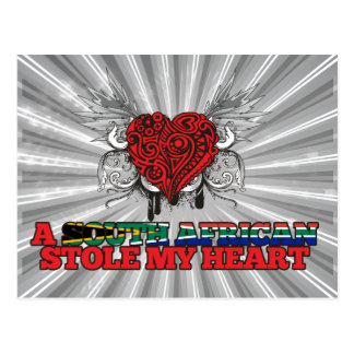 A South African Stole my Heart Postcard