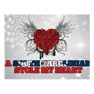 A South Carolinian Stole my Heart Post Card