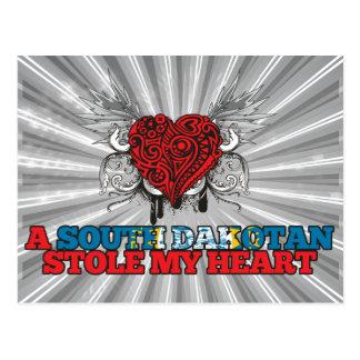 A South Dakotan Stole my Heart Postcard