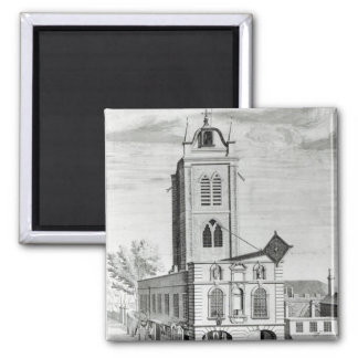 A South East project of the Charity School 2 Inch Square Magnet
