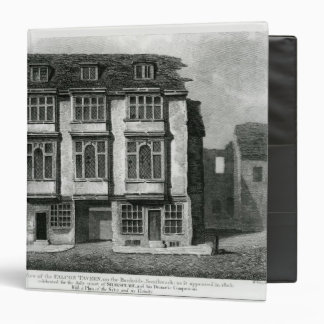 A South View of the Falcon Tavern 3 Ring Binder