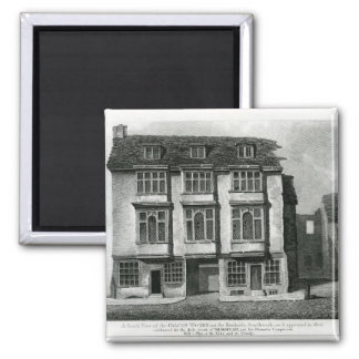 A South View of the Falcon Tavern Magnet
