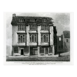 A South View of the Falcon Tavern Postcard