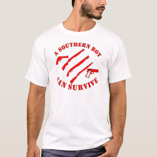 A Southern Boy Can Survive T-Shirt