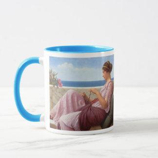 A Souvenir - John William Godward Mug