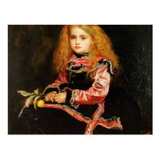 A Souvenir of Velazquez by John Everett Millais Postcard