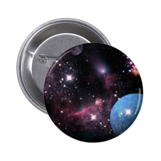 A Space Odyssey Pinback Button