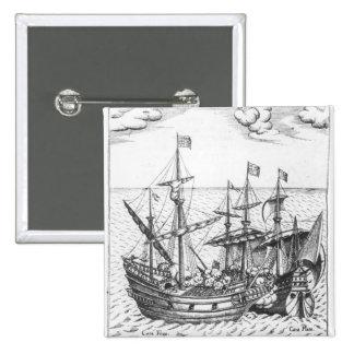 A Spanish Treasure Ship Buttons