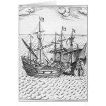 A Spanish Treasure Ship Card