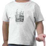 A Spanish Treasure Ship T Shirt