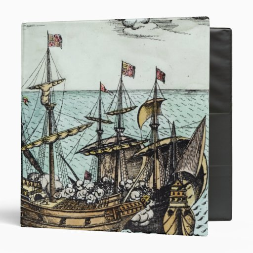 A Spanish Treasure Ship Vinyl Binders