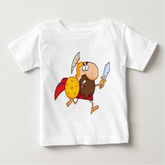 A Spartan warrior running T-shirts