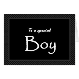 A Special Boy Ring Bearer  Invitation Customizable Greeting Card