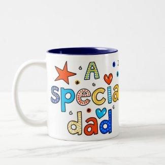 A Special Dad Mug mug