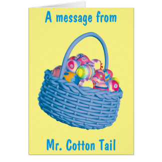 A Special Easter Message Card