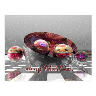 A special Merry Christmas Postcard