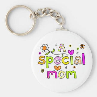 A Special Mom Keychain