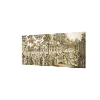 A Spectacle in Ranelagh Gardens, with the Rotunda Canvas Print