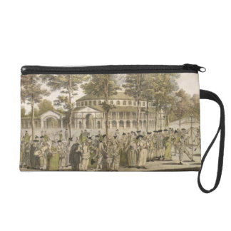 A Spectacle in Ranelagh Gardens, with the Rotunda Wristlet Purse