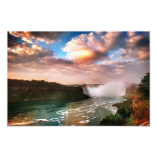 A spectacular view of the Niagara Falls Photo Print