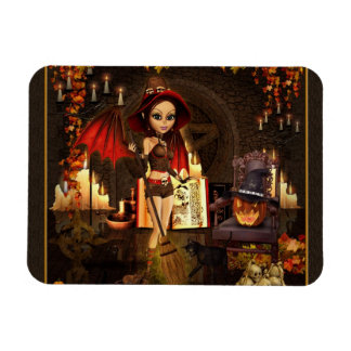 A Spell or Two Digital Art Witch Magnet
