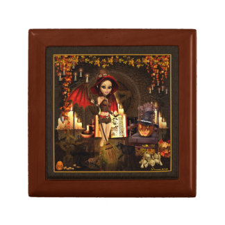 A Spell or Two Witch Jewelry Keepsake Box