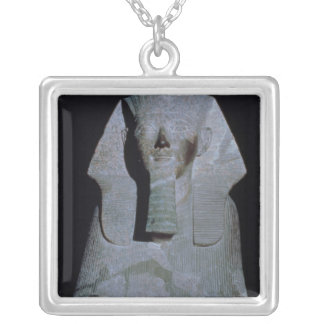 A Sphinx of Queen Hatshepsut Silver Plated Necklace