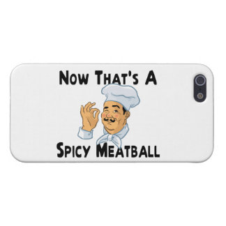 A Spicy Meatball iPhone SE/5/5s Case
