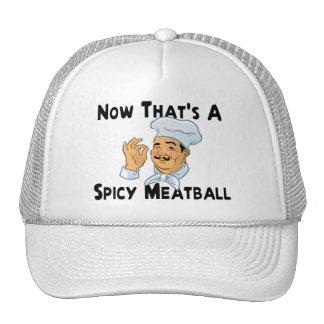 A Spicy Meatball Trucker Hat