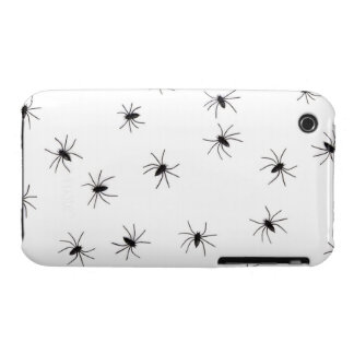 A Spiders flock (pattern) cartoon iPhone 3 Cases