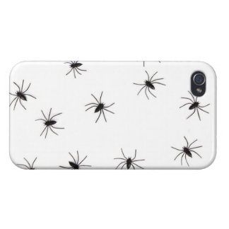 A Spiders flock (pattern) cartoon iPhone 4 Cases