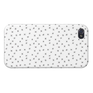 A Spiders flock (pattern) cartoon Cases For iPhone 4