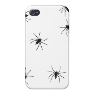 A Spiders flock (pattern) cartoon iPhone 4/4S Covers