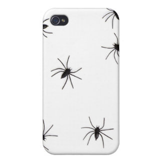 A Spiders flock (pattern) cartoon Covers For iPhone 4
