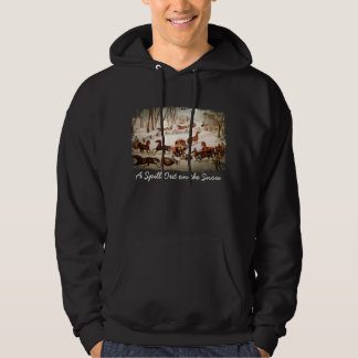 A Spill Out on the Snow Sweatshirt
