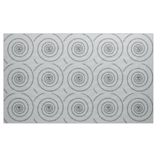 A sPIral for Pi Click Customize Change Grey Color Fabric