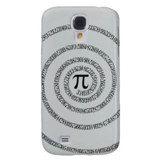 A sPIral for Pi Click Customize Change Grey Color Samsung S4 Case
