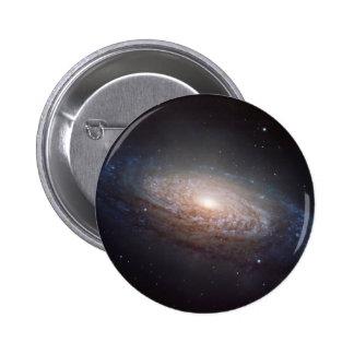 A spiral galaxy in Leo 2 Inch Round Button