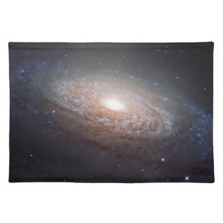 A spiral galaxy in Leo Cloth Placemat