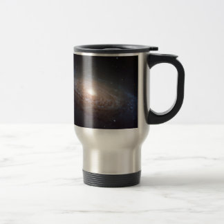 A spiral galaxy in Leo Travel Mug