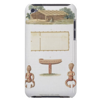 A spirit house, New Zealand, from 'Voyage autour d Barely There iPod Case