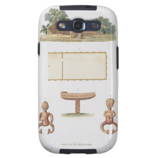 A spirit house, New Zealand, from 'Voyage autour d Samsung Galaxy S3 Cases
