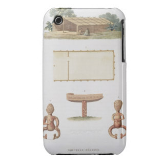 A spirit house, New Zealand, from 'Voyage autour d iPhone 3 Case-Mate Cases