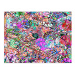 A Splash of Abstract Postcard