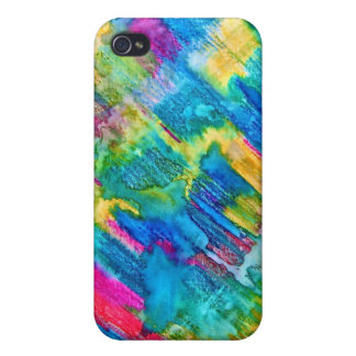 A Splash of Color iPhone 4 Cover