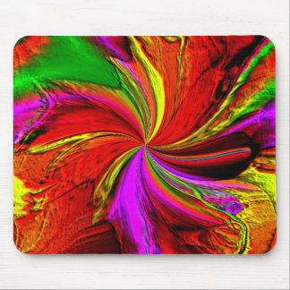 A Splash of Color Mouse Pad