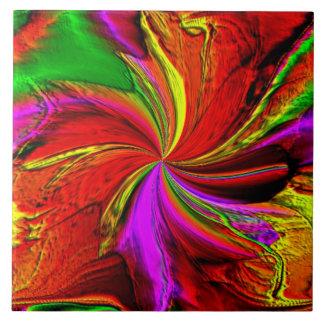 A Splash of Color Ceramic Tile